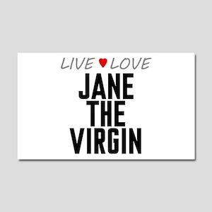 Live Love Jane the Virgin Car Magnet 20 x 12