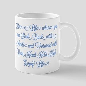 Smiling Back, Proudly Forward Mugs