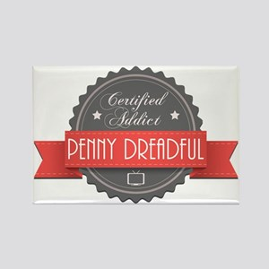 Certified Penny Dreadful Addict Rectangle Magnet