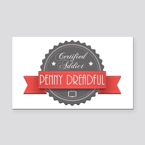 Certified Penny Dreadful Addict Rectangle Car Magn