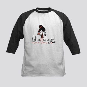 Science Like A Girl! Baseball Jersey