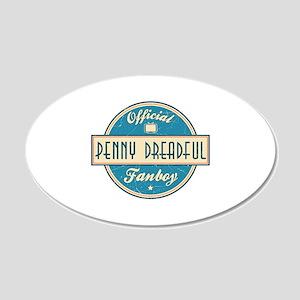 Official Penny Dreadful Fanboy 22x14 Oval Wall Pee