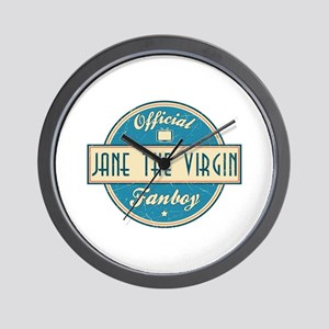 Official Jane the Virgin Fanboy Wall Clock