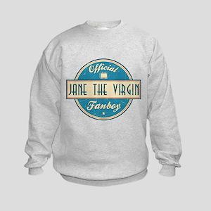 Official Jane the Virgin Fanboy Kids Sweatshirt