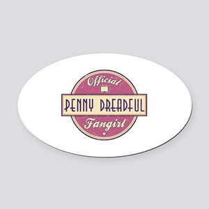 Official Penny Dreadful Fangirl Oval Car Magnet