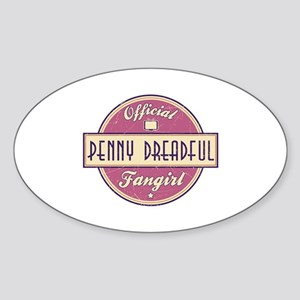 Official Penny Dreadful Fangirl Oval Sticker