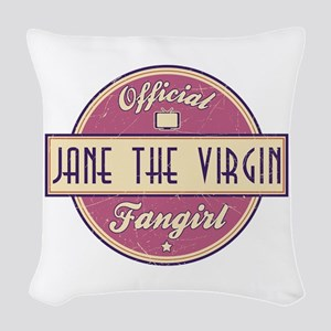 Official Jane the Virgin Fangirl Woven Throw Pillo