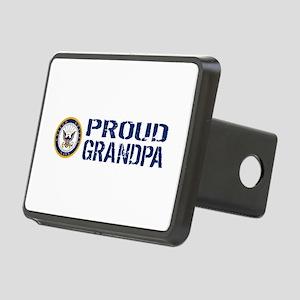 U.S. Navy: Proud Grandpa ( Rectangular Hitch Cover