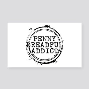 Penny Dreadful Addict Stamp Rectangle Car Magnet