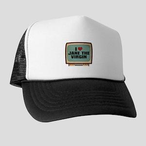 Retro I Heart Jane the Virgin Trucker Hat