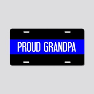 Police: Proud Grandpa (The Aluminum License Plate
