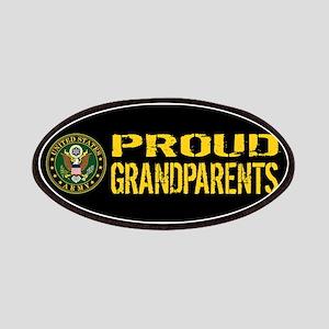 U.S. Army: Proud Grandparents (Black & Gold) Patch