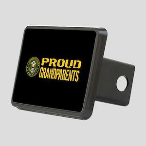 U.S. Army: Proud Grandpare Rectangular Hitch Cover