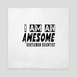I Am Gentleman scientist Queen Duvet