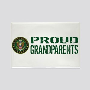 U.S. Army: Proud Grandparents (Gr Rectangle Magnet