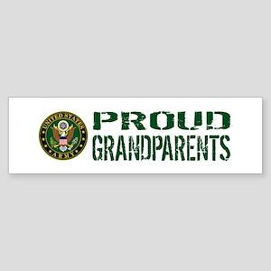 U.S. Army: Proud Grandparents (Gr Sticker (Bumper)