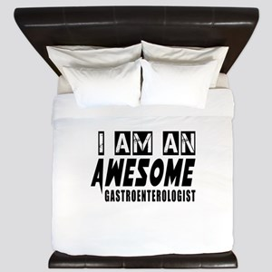 I Am Gastroenterologist King Duvet