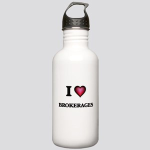 I Love Brokerages Stainless Water Bottle 1.0L