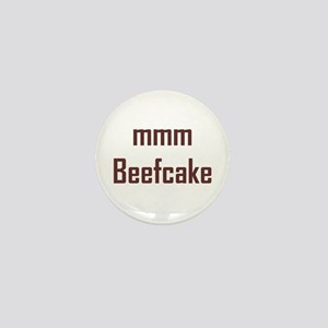 mmm, Beefcake! Mini Button