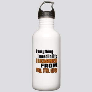 I Need In Life I Learn Stainless Water Bottle 1.0L