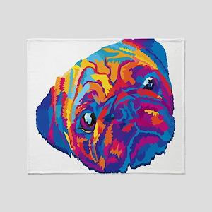 Wpap dog Throw Blanket