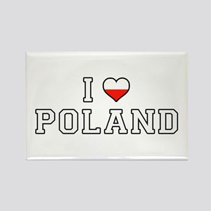 I Love Poland Magnets