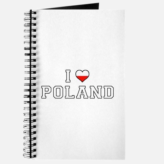 I Love Poland Journal