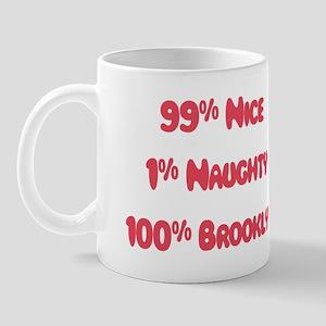 Brooklyn - 1% Naughty Mug