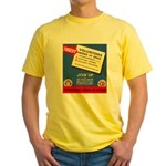 Phila.Council of Defense Yellow T-Shirt