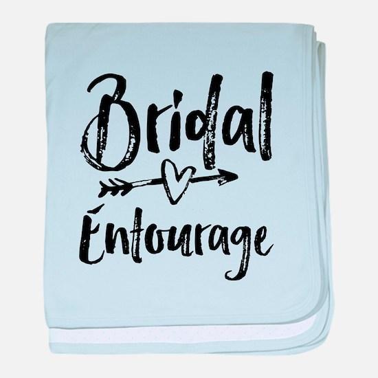 Bridal Entourage - Bride's Entourage baby blanket
