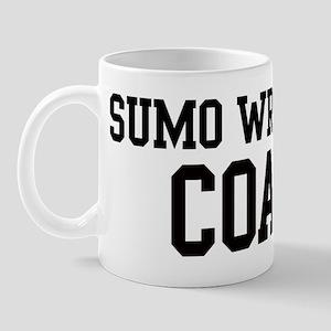 SUMO WRESTLING Coach Mug