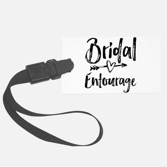 Bridal Entourage - Bride's Entourage Luggage Tag