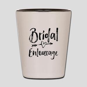 Bridal Entourage - Bride's Entourage Shot Glass