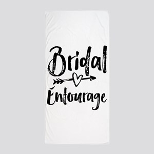 Bridal Entourage - Bride's Entourage Beach Towel
