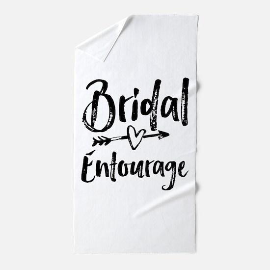 Bridal Entourage - Bride's Entourage Beach Towel
