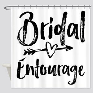 Bridal Entourage - Bride's Entourage Shower Curtai