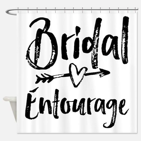 Bridal Entourage - Bride's Entourage Shower Curtai