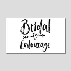 Bridal Entourage - Bride's Entourage Car Magnet 20