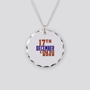 17 December A Star Was Born Necklace Circle Charm