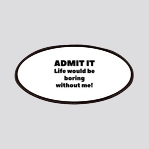 Admit It Patches