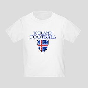 Iceland Football Toddler T-Shirt