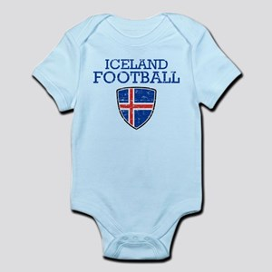 Iceland Football Infant Bodysuit