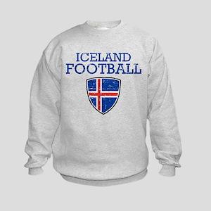 Iceland Football Kids Sweatshirt
