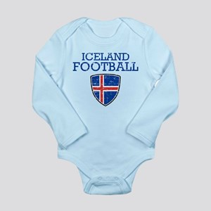 Iceland Football Long Sleeve Infant Bodysuit