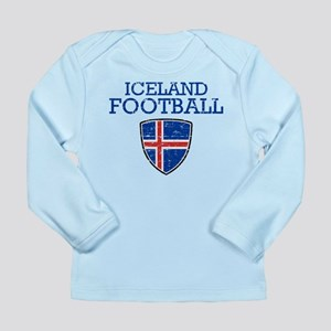 Iceland Football Long Sleeve Infant T-Shirt
