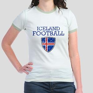 Iceland Football Jr. Ringer T-Shirt