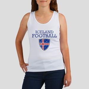 Iceland Football Women's Tank Top