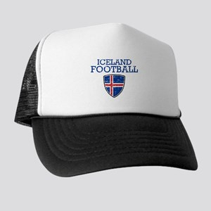 Iceland Football Trucker Hat