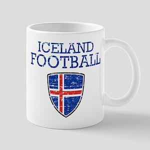Iceland Football Mug