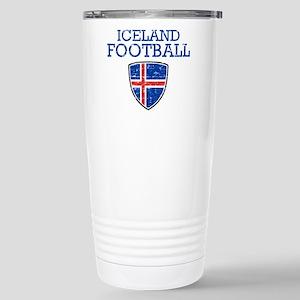 Iceland Football Stainless Steel Travel Mug